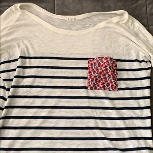 Anthropologie striped shirt